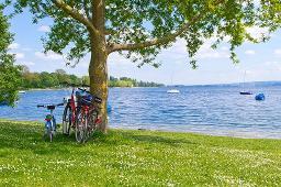 Radtouren rund um den See
